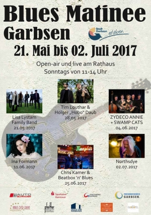 Garbsener Blues Matinee geht in die 18. Runde