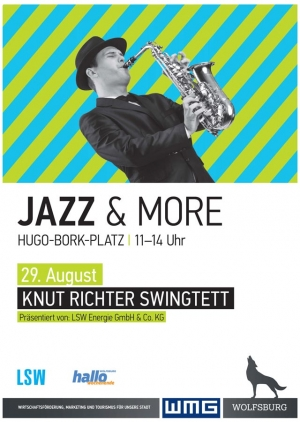 Frischer Jazz-Wind in Wolfsburg am 29.August auf dem Hugo-Bork-Platz