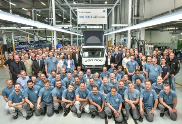 "100.000 VW California ""Made in Hannover"""
