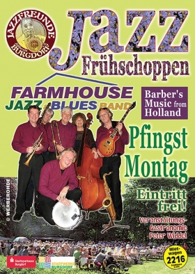 Farmhouse Jazz & Blues Band aus den Niederlanden