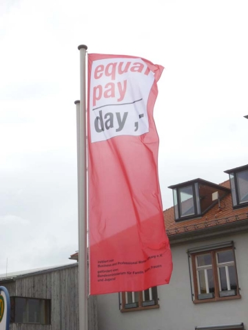 Am 18. März 2017 ist Equal Pay Day!